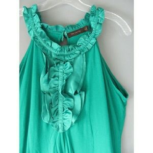 The Limited ruffle tank